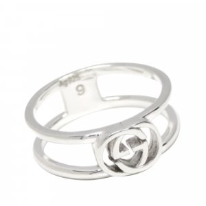 Gucci Ring silver-colored metal