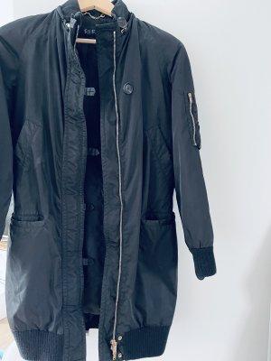 Gucci Manteau à capuche noir-doré