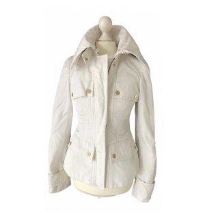 Gucci Futrzana kurtka biały