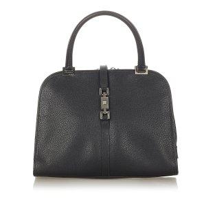 Gucci Jackie Canvas Handbag