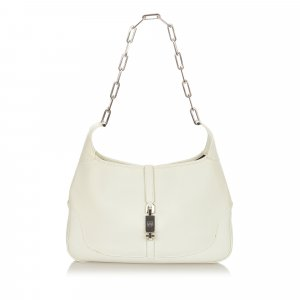 Gucci Jackie Leather Chain Shoulder Bag