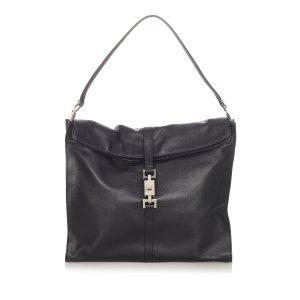 Gucci Jackie Leather Shoulder Bag