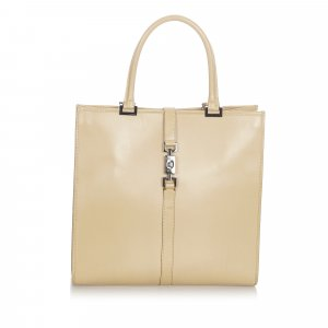 Gucci Jackie Leather Tote Bag