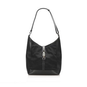 Gucci Jackie Nylon Shoulder Bag