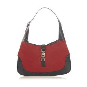Gucci Shoulder Bag red nylon