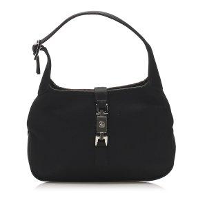 Gucci Jackie Satin Shoulder Bag
