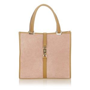 Gucci Jackie Suede Handbag