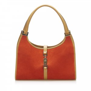 Gucci Jackie Suede Shoulder Bag