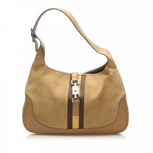 Gucci Shoulder Bag beige suede