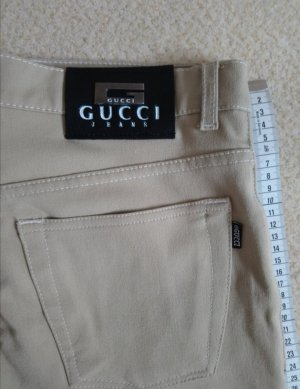 GUCCI Jeans Cream