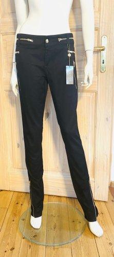 Gucci Straight Leg Jeans black cotton