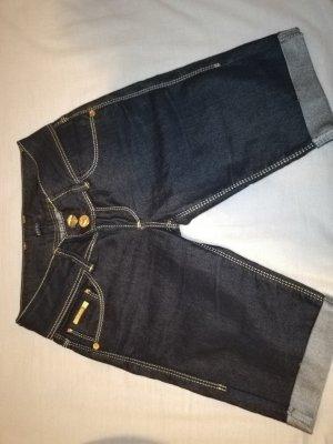 Gucci Pantalon 3/4 bleu foncé