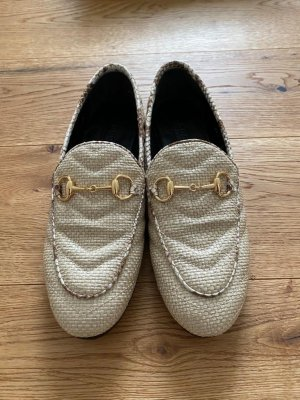 Gucci Jordaan Loafers mit Horsebit-Detail; Größe 34; NEU