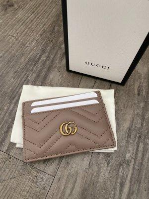 Gucci Portefeuille vieux rose cuir