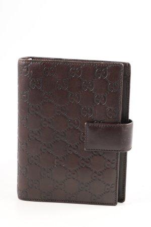 Gucci Kartenetui braun Business-Look