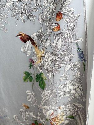 Gucci Sciarpa di seta multicolore Seta