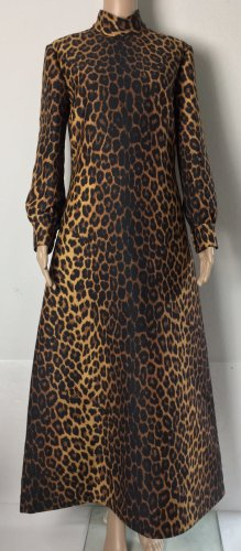 Gucci Sukienka maxi brązowy-czarny