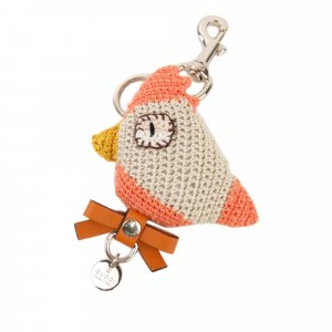 Gucci Knitted Bird Key Chain