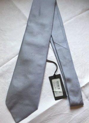 Gucci Corbata gris pizarra-azul celeste