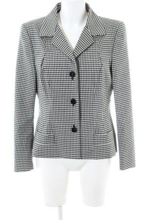 Gucci Short Blazer white-black allover print business style