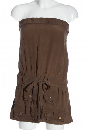 Gucci Kurzer Jumpsuit brown casual look