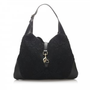 Gucci Lace Jackie O Bouvier Hobo Bag