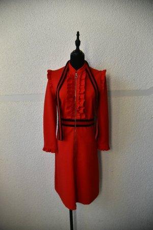 Gucci Abito a maniche lunghe rosso-rosso mattone
