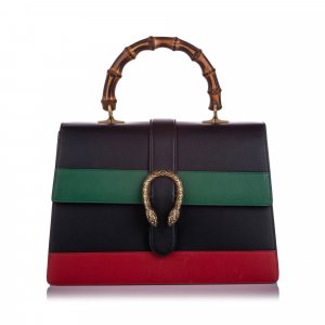 Gucci Large Dionysus Bamboo Top Handle Satchel