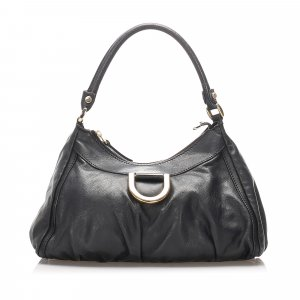 Gucci Leather Abbey D-Ring Shoulder Bag