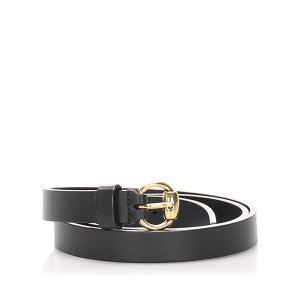 Gucci Cintura nero Pelle