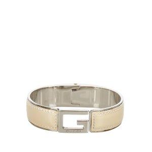 Gucci Armband beige Leer