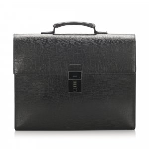 Gucci Leather Briefcase