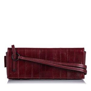 Gucci Clutch bordeaux leather