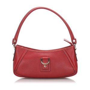 Gucci Handbag red leather