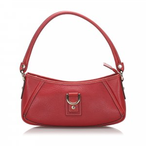 Gucci Leather D-Ring Abbey Pochette