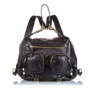 Gucci Leather Darwin Convertible Backpack