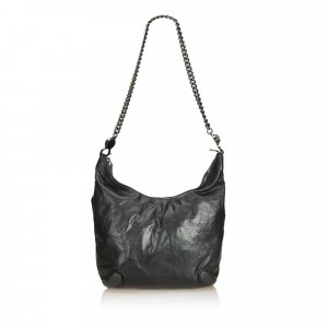Gucci Leather Galaxy Chain Hobo