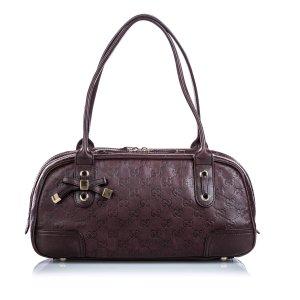 Gucci Leather Guccissima Princy
