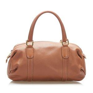 Gucci Handbag light brown leather