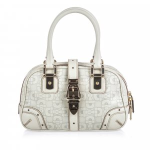 Gucci Handbag white leather