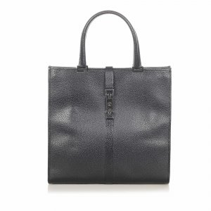 Gucci Leather Jackie Tote Bag