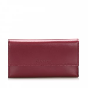 Gucci Leather Long Wallet