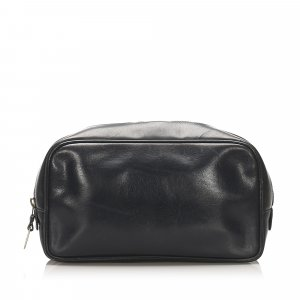 Gucci Pouch Bag black leather