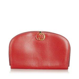 Gucci Buideltas rood Leer