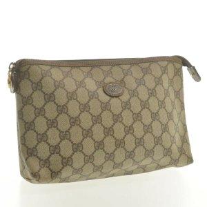 Gucci Clutch beige leather