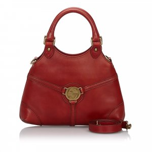 Gucci Leather Reins Hobo Bag