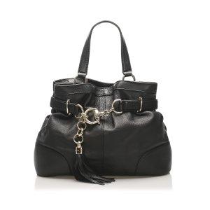 Gucci Leather Sienna Bit Tote