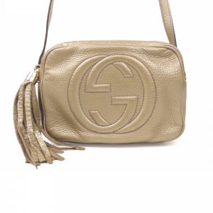 Gucci Leather Soho Disco Crossbody Bag