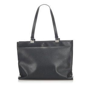 Gucci Leather Tote Bag