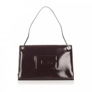 Gucci Tote bordeaux leather